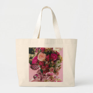 Bouquet of Love Large Tote Bag