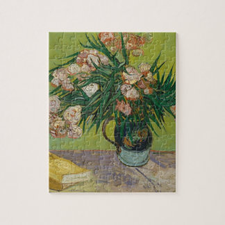 Bouquet of Pink Flowers in Vase Jigsaw Puzzle