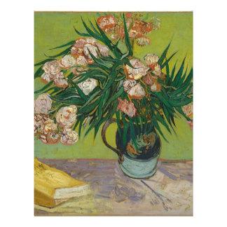 Bouquet of Pink Flowers in Vase Letterhead