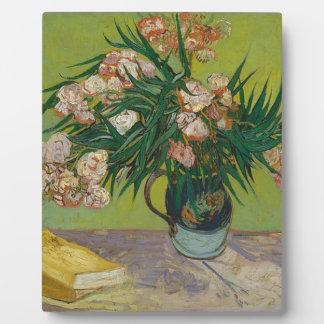 Bouquet of Pink Flowers in Vase Plaque