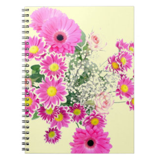 Bouquet of Pink Flowers Notebook