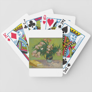 Bouquet of red roses bicycle playing cards