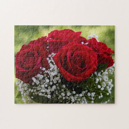Bouquet of Red Roses Puzzle