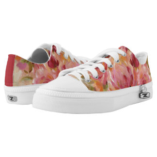 Bouquet of Roses Low-Top Sneakers