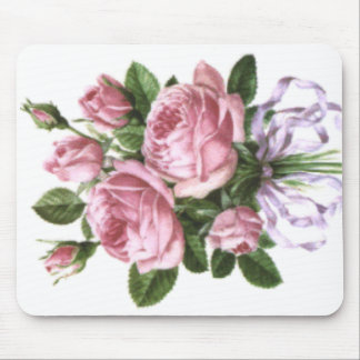 Bouquet of roses mouse pad