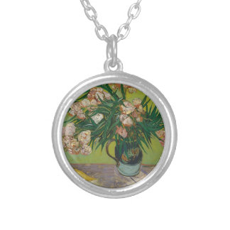 Bouquet of Roses Silver Plated Necklace