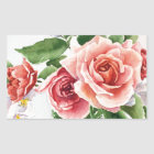 Bouquet of roses sticker