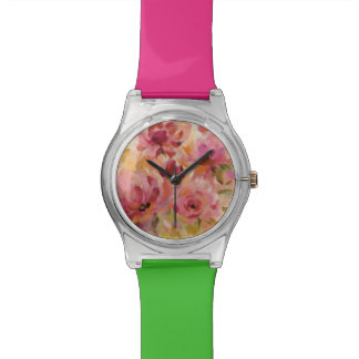 Bouquet of Roses Wrist Watches