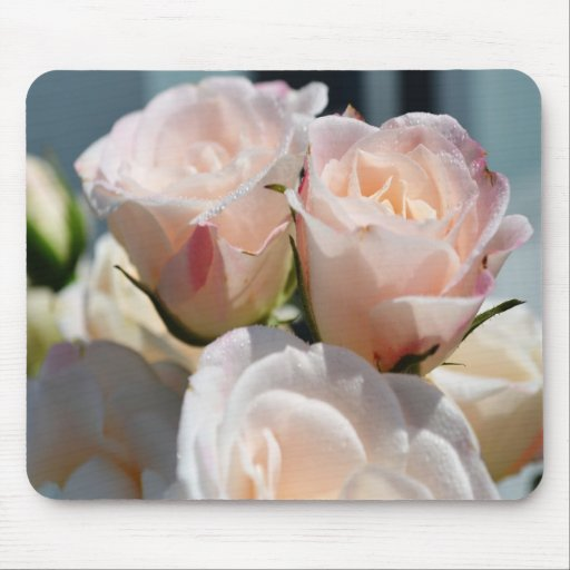 Bouquet of Spray Roses Mousepad