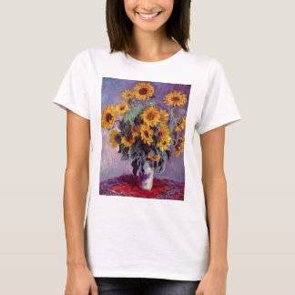 Bouquet of Sunflowers by Claude Monet T-Shirt