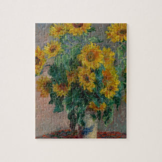 Bouquet of Sunflowers Jigsaw Puzzle
