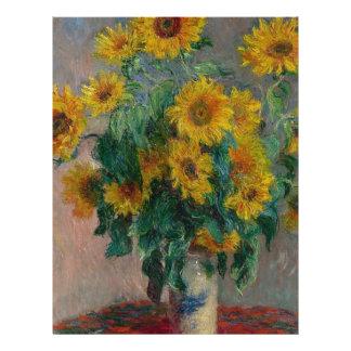 Bouquet of Sunflowers Letterhead