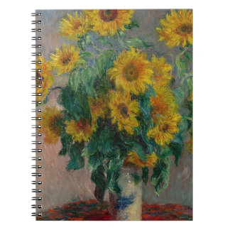 Bouquet of Sunflowers Notebook