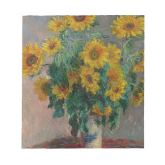 Bouquet of Sunflowers Notepad