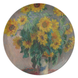 Bouquet of Sunflowers Plate