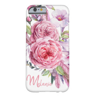 Bouquet of watercolor flowers iPhone 6/6s Case