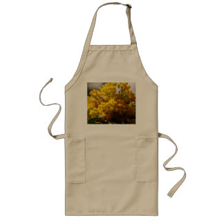 Bouquet of Yellow Flowers in Bloom Long Apron