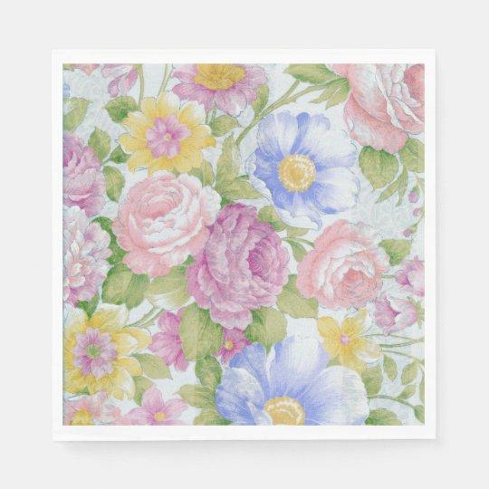 Bouquet Paper Napkin