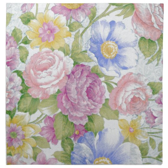 Bouquet Printed Napkin