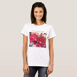Bouquet Roses T-Shirt