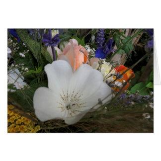 Bouquet, UCSC Organic Garden Card