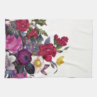 Bouquet vintage kitchen towel