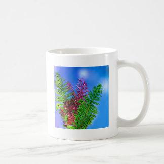 Bouquet with ferns coffee mug