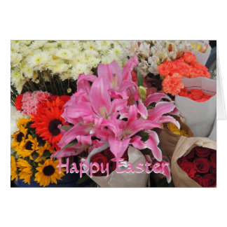 Bouquets of Flowers from Ecuador Flower Plaza Card
