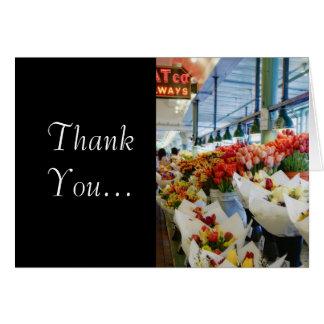 Bouquets-Street Market Card