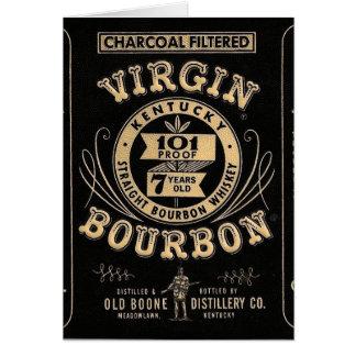 Bourbon commercial card