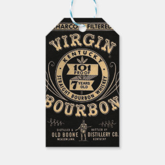 Bourbon commercial pack of gift tags