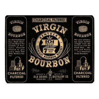 Bourbon commercial postcard