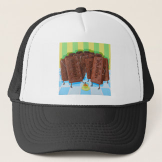 Bourbon Cream Tea Trucker Hat