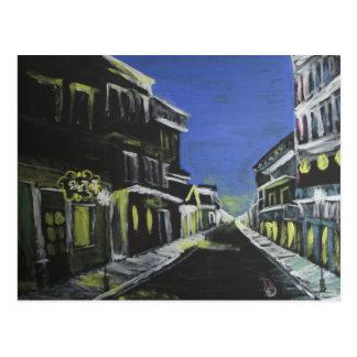 Bourbon Street 4am Postcard