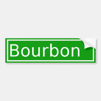 Bourbon Street Bumper Sticker