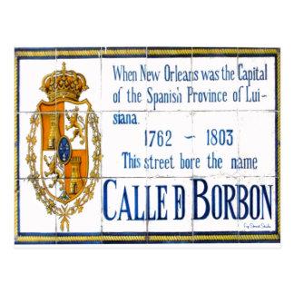 Bourbon Street Postcard