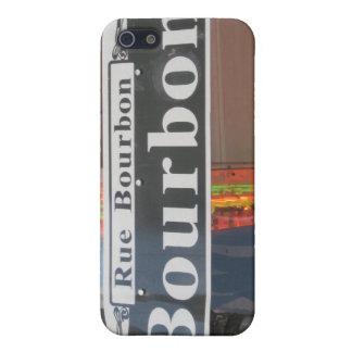BOURBON STREET SIGN iPhone 5 CASES