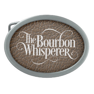 Bourbon Whisperer Oval Belt Buckles