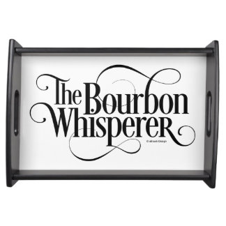 Bourbon Whisperer Serving Tray