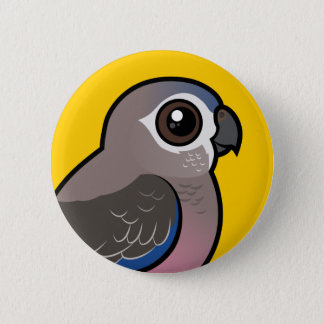 Bourke's Parrot 2 Inch Round Button