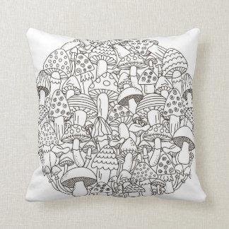Bourne 631 Art Throw Pillow