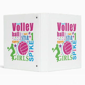 Bourne Beach Volleyball Binders