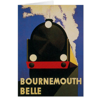 Bournemouth Belle Card