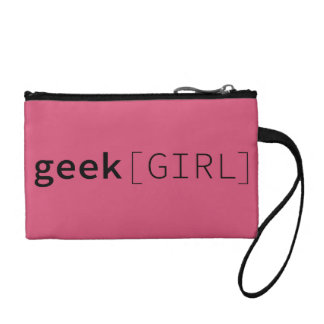 Bourse rose de bracelet de geek [FILLE] -