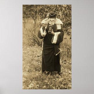 Bourskaya with Camera Print