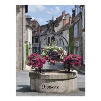 Boussac Creuse France postcard