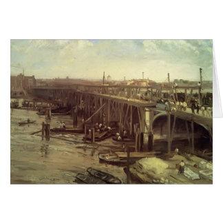 Bout de James McNeill Whistler-Le de vieux Westmin Cartes De Vœux