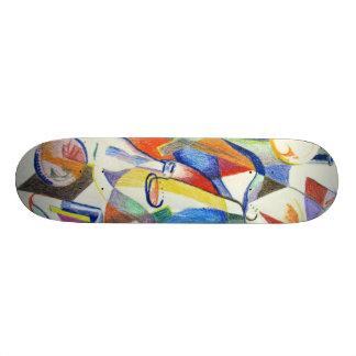 Bouteilles de partie skateboards