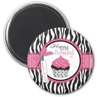 Boutique Chic Cupcakes Magnet B