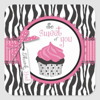 Boutique Chic Cupcakes TY Sticker S2